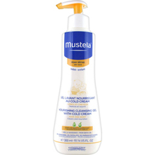 MUSTELA NOURISHING CLEANSING GEL WITH COLD CREME 300ML