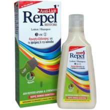 REPEL ANTI-LICE RESTORE LOTION-SHAMPOO 3 IN 1 200ML