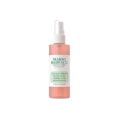 Mario Badescu Facial Spray with Aloe, Hers, and Rosewater 118ml