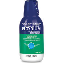 Elgydium Enamel Protection Fluorinated Mouthwash 500ml