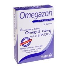 HEALTH AID OMEGAZON BLISTER 750MG 30CAPS