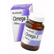 HEALTH AID OMEGA 3 750MG 60CAP