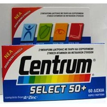 CENTRUM SELECT 50+ 60TAB