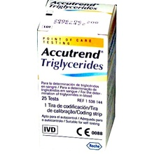ACCUTREND TRIGLYCERIDES 25 STRIPS