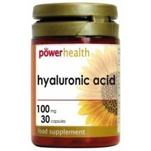 POWER HYALOURONIC ACID 100MG 30CAPS
