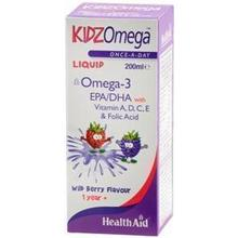 HEALTH AID KIDZ OMEGA LIQUID WILDBERRY 200ml