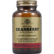 SOLGAR CRANBERRY BERRY EXTRACT 60VCAP