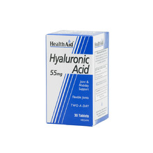 HEALTH AID HYALURONIC ACID 55MG 30TAB