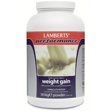 LAMBERTS WEIGHT GAIN VANILLA 1816GR
