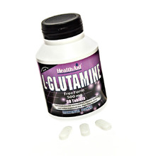 HEALTH AID L-GLUTAMINE 500MG 60TAB
