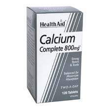 HEALTH AID CALCIUM COMPLETE 800MG 120TAB