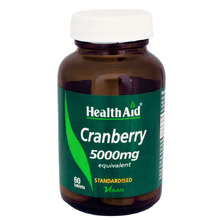 HEALTH AID CRANBERRY EXTRACT 60TAB