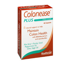 HEALTH AID COLONEASE PLUS 60CAP