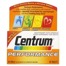 CENTRUM A-ZINC PERFORMANCE 30TAB