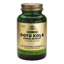 SOLGAR STANDARDISED GOTU KOLA 100CAP