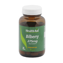 HEALTH AID BILBERRY BERRY EXTRACT 30TAB