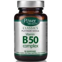 POWER HEALTH CLASSICS PLATINUM VIT B50 30CAP