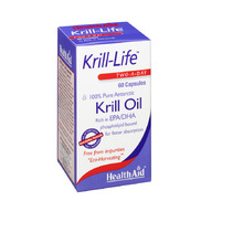 HEALTH AID KRILL LIFE OIL 500MG 60CAP