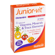 HEALTH AID JUNIOR VITAMINS 30TABS BLISTER