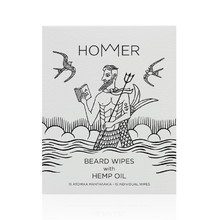 HOMMER BEARD WIPES 15 WIPES