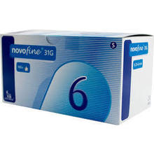 NOVOFINE 31G 6MM 100ΤΜΧ.