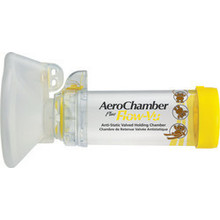 AEROCHAMBER PLUS Flow-Vu Medium Mask (1 - 5 years)