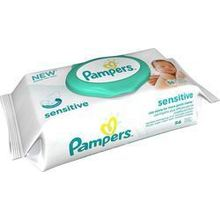 PAMPERS BABY WIPES SENSITIVE ΚΟΥΤΙ 56ΤΕΜ