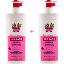 KLORANE PETIT JUNIOR GEL DOUCHE -50% FRAMBOISE 500ML