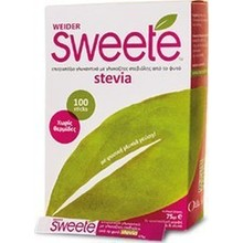 SWEETE STEVIA 100x0.75 gr sticks