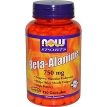 NOW BETA-ALANINE 750MG 120 CAPS