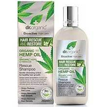 DR.ORGANIC HAIR RESCUE AND RESTORE SHAMPOO 265ML