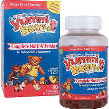 HERO NUTRITIONALS - YUMMI BEARS MULTI VITAMIN + MINERAL - 90 JELLIES