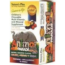 NATURES PLUS ANIMAL PARADE ASSORTED 90 TABS