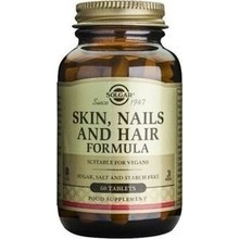 SOLGAR SKIN NAILS AND HAIR FORMULA 60TAB