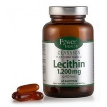 POWER CLASS PLATIN LECITHIN 1200MG 60CAP
