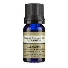 NEAL'S YARD REMEDIES ORGANIC ESSENTIAL OIL GERANIUM BALANCING 10ML