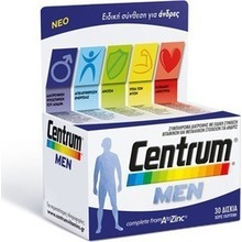 CENTRUM MEN COMPLETE FROM A-Zinc 30 ΔΙΣΚΙΑ