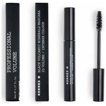 KORRES BLACK VOLCANIC MINERALS MASCARA EXTREME LENGTH/INTENSE COLOUR 01 BLACK 7,5ML