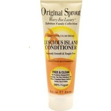 ORIGINAL SPROUT LUSCIOUS ISLAND CONDITIONER INSTANTLY SMOOTH & TANGLE FREE 236ML