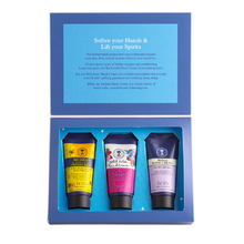 NEAL'S YARD REMEDIES BEAUTIFUL HANDS KIT MELISSA HAND CREAM 30ML, BEE LOVELY HAND CREAM 30ML & WILD ROSE HAND CREAM 30ML 3TMX.