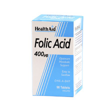 HEALTH AID FOLIC ACID 400MG 90TAB