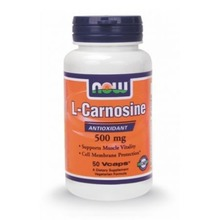 NOW L-CARNOSINE 500 mg 50VCAPS